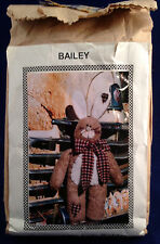 "Bailey Stuffed Bunny 18"" Sewing Kit Complete Judy Golder South Australia NIP OOP"