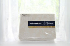 *BNWT* Sheridan Signature One Pair Pencil Pleat Curtains with Tie Backs Hillier