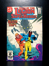 COMICS: DC: Legion of Super-Heroes #317 (1980s) - RARE (flash/batman/wonder)
