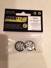 Mitoos M033 Leggera Gara Lega Ruote M023 & M003 S3 Pneumatici X 2 19.7x10mm