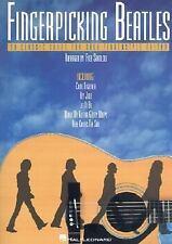 FINGERPICKING BEATLES PAPERBACK Guitar Tab Book w/ music notation