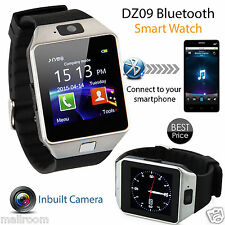 Bluetooth Smart Watch GSM für Android HTC Samsung iPhone iOS Camera SIM Slot NEU