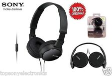 NEW Sony MDR-ZX110AP Headphones f/Apple iPhone-iPod-iPad, Android & Blackberry