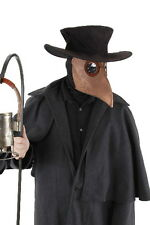 SteamPunk Cosplay Plague Doctor Beak Style Mask, Hood & Hat Kit Gothic, SEALED