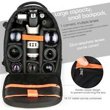 Waterproof DSLR Camera Laptop Tripod Backpack Case Bag for Canon Nikon Sony USA