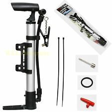 BIKE PUMP HAND SPORT CYCLING BICYCLE AIR PUMP BALL TYRE SOCCER GREAT QUALITY