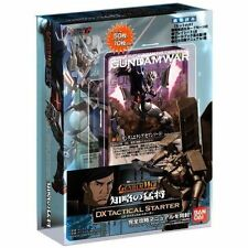 "Gundam War DX Tactical Starter ""Warlords Of Strategy"""