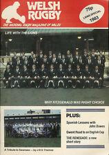 Revista De Rugby Gales Leones especial 1983, última cuestión, Baglan, España, Swansea