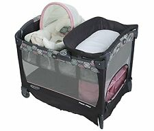Graco Pack 'n Play BABY PLAYPEN, Cuddle Cove Removable Seat & PLAYARD, Addison