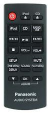 *Nouveau* Authentique Panasonic N2QAYC000057 Télécommande pour SC-HC37DB Dab CD