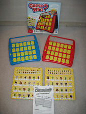 HTF Game Guess Who ? people & Pets Board Game  Milton Bradley 2009  EUC