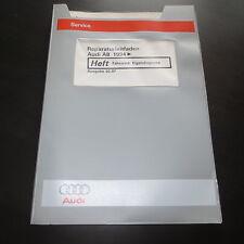 Werkstatthandbuch Audi A8 D2 ab 1994 Fahrwerk Eigendiagnose ABS EDS ASR