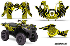 Suzuki Quad 500 AXi AMR Racing Sticker Graphic Kit Wrap Decal ATV 13-15 CONS YLW