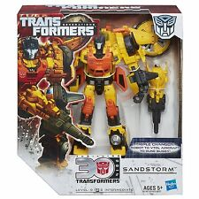 Transformers Generations Voyager Class Sandstorm Figura