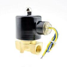 """12V 3/8"""" Elektro Magnetventil Ventil f. Wasser Luft Gas"""