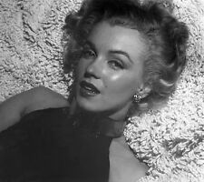 MARILYN MONROE BEAUTY ON A SHAG RUG  (1) RARE 4x6 GalleryQuality PHOTO