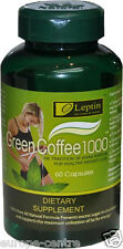 ORIGINAL LEPTIN GREEN COFFEE BEAN EXTRACT1000 DIET PILS SLIMMING WEIGHT LOSS