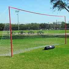 6x12 J-Goals by Soccer Innovations | Portable Goals for Sports | Backyard Goal