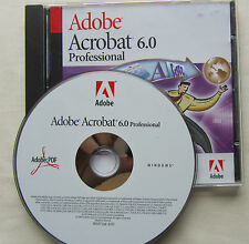 Adobe Acrobat 6.0 Professional per Windows con numero di serie