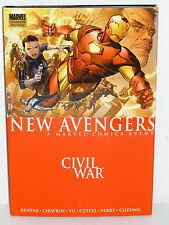 NEW AVENGERS CIVIL WAR HC - 1st Printing - LUKE CAGE Spider-Woman - HARD COVER