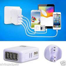 4 Port USB Charger Universal Travel AC Adapter Plug AU EU UK US