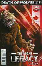 DEATH OF WOLVERINE LOGAN LEGACY 3 RARE CANADA CANADIAN VARIANT NM