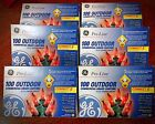 6 Sets GE Pro-Line 100 In/Outdoor Lights Commerical Grade 41.2' Lighted Length