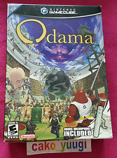 ODAMA + MICROPHONE  NINTENDO GAMECUBE NTSC US NEW SEALED DAMAGED BOX