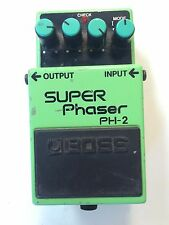 Boss Roland PH-2 Super Phaser Analog Phase Shifter Vintage Guitar Effect Pedal