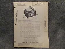 Sams Photofact Folder #3 Set #53 Airline Models 64BR-7810A 64BR-7820A Amplifier