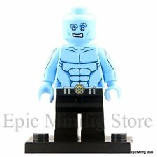 Custom Iceman Minifigure X-Men Apocalypse fits with Lego pg 027 UK Sellar