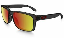 Genuine Oakley Sunglasses HOLBROOK(A) OO9244-04 Grey Smoke w/Ruby Iridium $140
