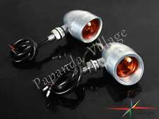 Amber Blub Turn Signals Lights Lamp Flasher For Honda Kawasaki KTM Ducati Yamaha