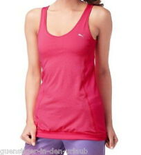 PUMA Damen Trainingstank Gym Loose Bubble Tank Top Shirt rosa / Pink S NEU