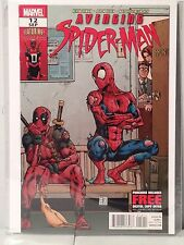 Avenging Spider=man #12 DEADPOOL Rubber Chicken Cover Marvel Comics Team Up NM