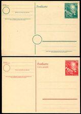 BUND 1949 PSo1-2 GANZSACHEN ** POSTFRISCH (Z7412b