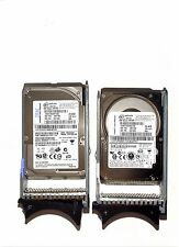 LOT 2X IBM 73GB SAS 10K RPM 2,5 HOTSWAP, 39R7366,40K1052