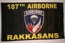 187th Infantry Regiment Rakkasans Flag 3x5 Army Fort Campbell KY 101st Airborne