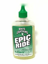 WHITE LIGHTNING BIKE BICYCLE EPIC RIDE CHAIN LUBE 4oz.