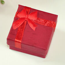 5X Jewellery Jewelry  Gift Box Case For Ring Square