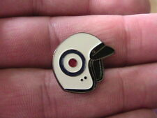 RAF ROUNDEL HELMET PIN BADGE SCOOTER SKA MOD TWO TONE MOTORCYCLE BIKER SOUL PUNK