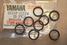 YAMAHA XS500  TX500  GENUINE  NOS  VALVE  GUIDE  O-RING  SET - # 93210-11124