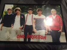 One Direction Autographed Signed Poster Rare
