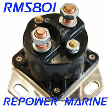 Marine Solenoid for OMC Cobra & Outboard, 4 Post Connection , 985064