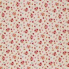 Tilda ~ cabbage rose tilly rouge crème mini floral tissu/quilting couture