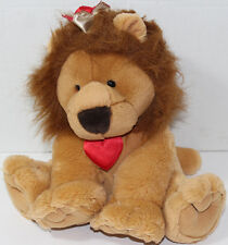 Hallmark KING OF HEARTS LION Cute Valentine's Day STUFFED PLUSH Soft Toy ANIMAL