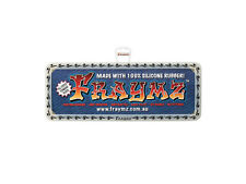 FRAYMZ NUMBER PLATE FRAMES - GLOW IN THE DARK!
