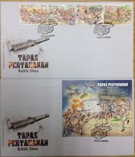 Malaysia FDC with miniature sheet & stamps (15.09.2016) - Battle Sites