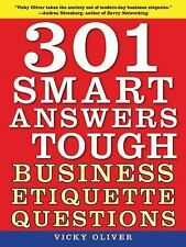 301 Smart Answers to Tough Business Etiquette Questions-ExLibrary