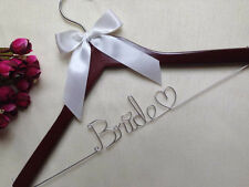 Personalized Wedding Hanger, brides bridesmaid gifts, name hanger, bride hanger